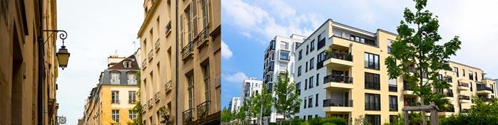 Vente Biens Immobiliers neufs et Anciens