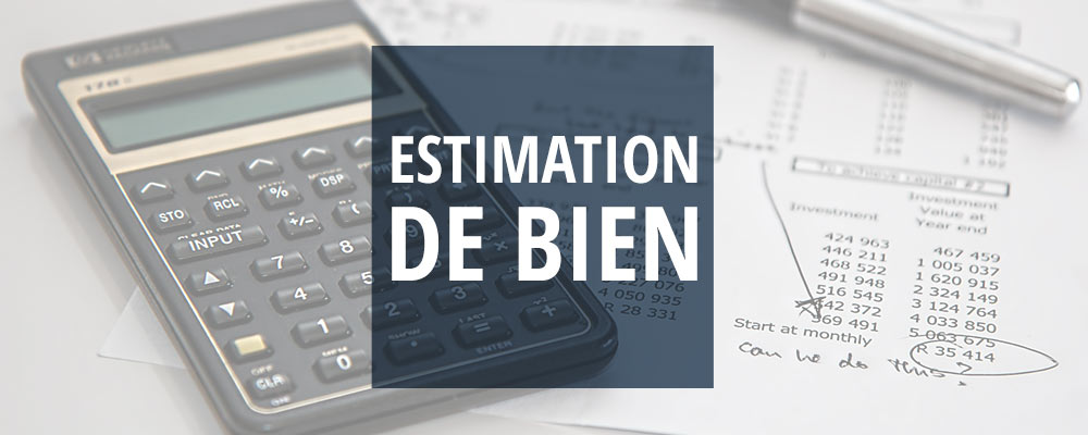 Estimation gratuite bien immobilier